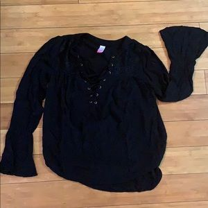 No Boundaries black blouse